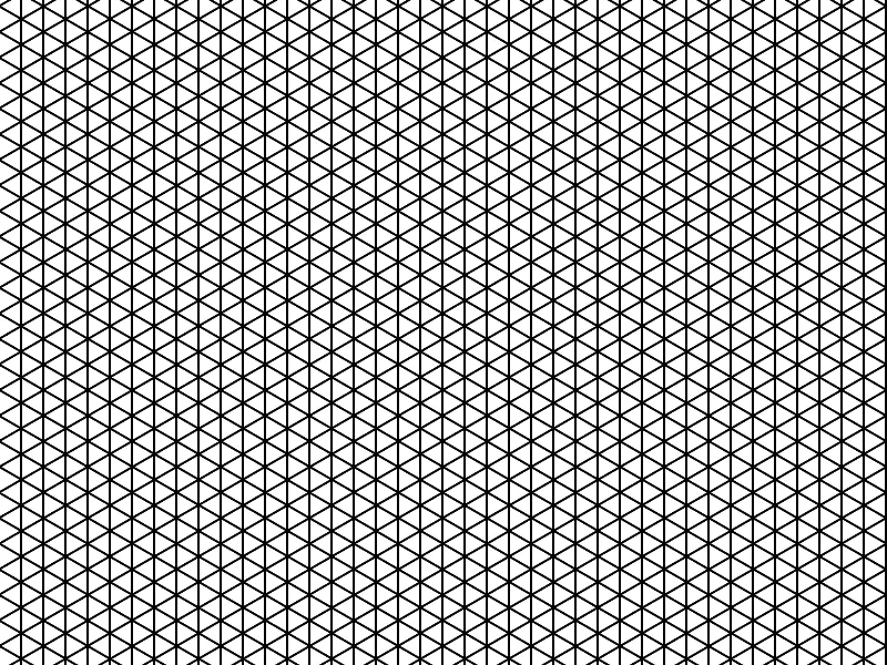 Isometric Grid Lines Pattern (Abstract).