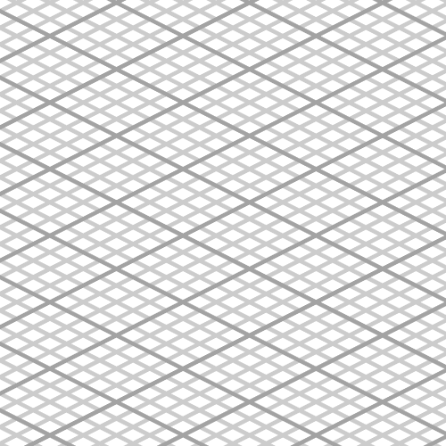 Illustrator — Making an isometric grid with the grid tool.
