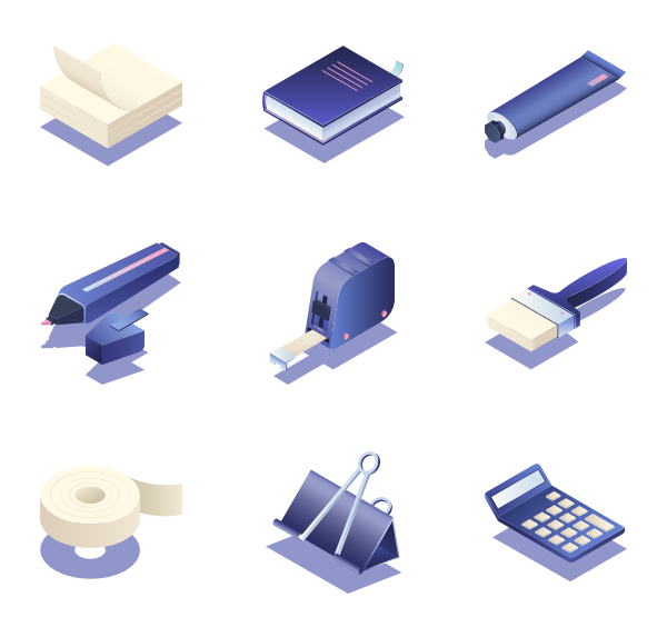 75 isometric icon packs.