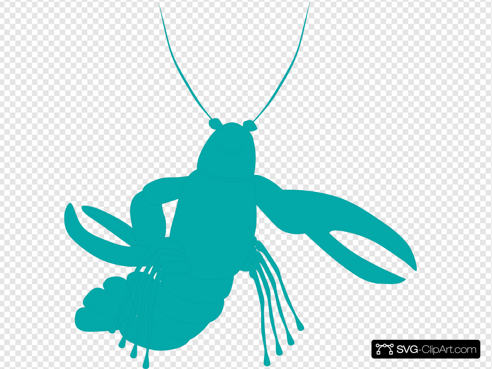 Isopod Green Clip art, Icon and SVG.
