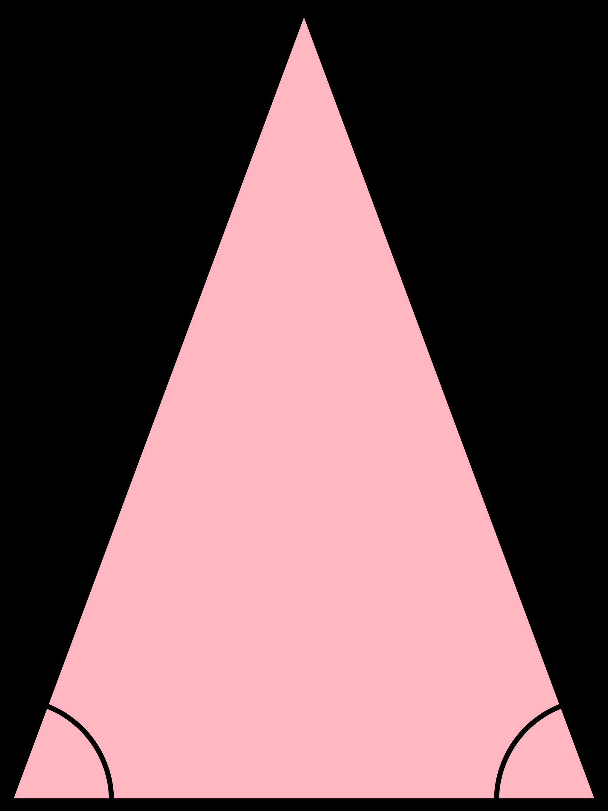 Triangular clipart isosceles triangle, Picture #2154207.