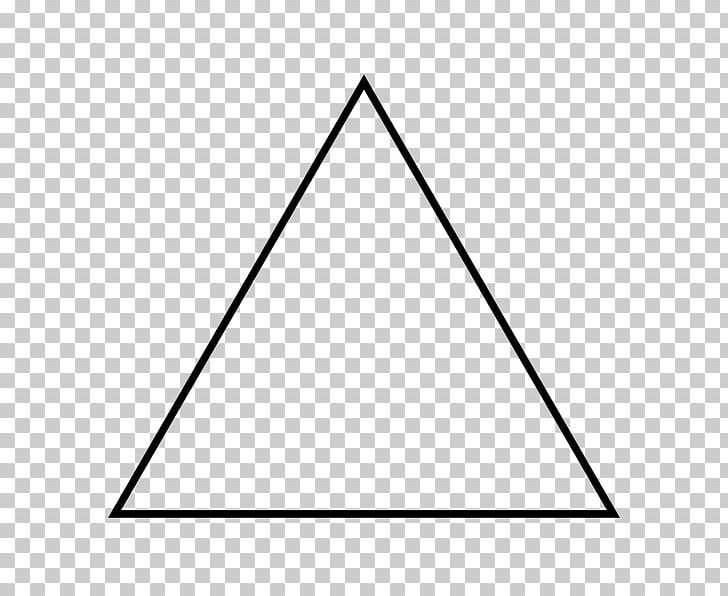 Equilateral Triangle Isosceles Triangle Shape Geometry PNG.