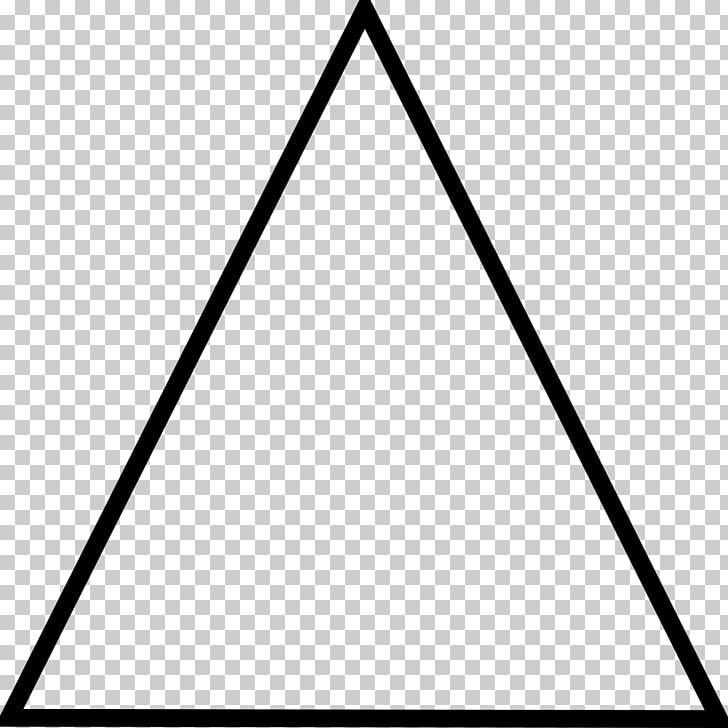 Isosceles triangle , dreiecke PNG clipart.