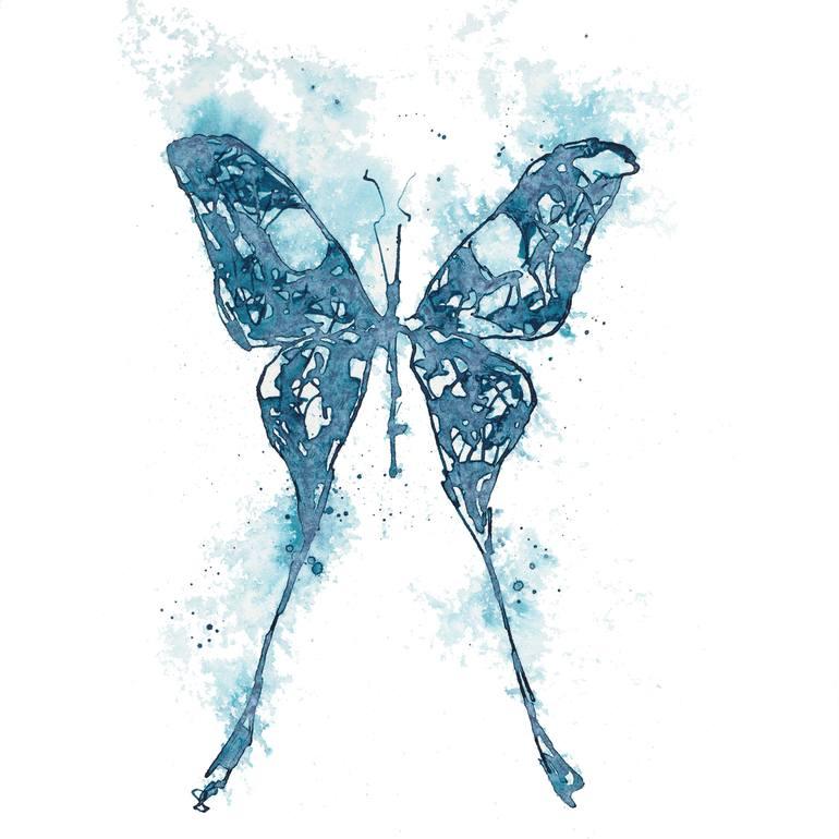 Blue Butterfly 22.