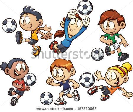 Kids Soccer Stock Photos, Royalty.