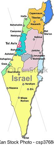 Israel map Clipart and Stock Illustrations. 2,422 Israel map vector.