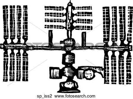 Clipart of ISS 2 sp_iss2.
