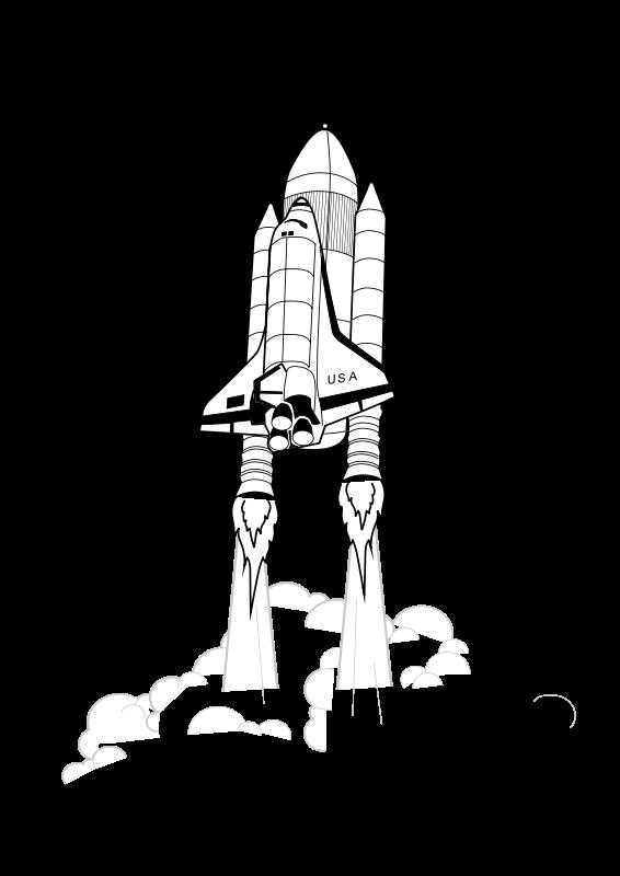 Free Clipart: Shuttle Launch iss activity sheet p2.