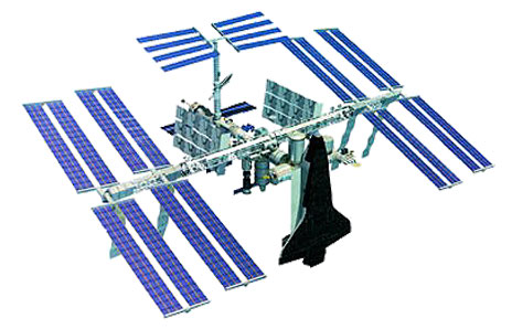 Iss Space Station Clipart.