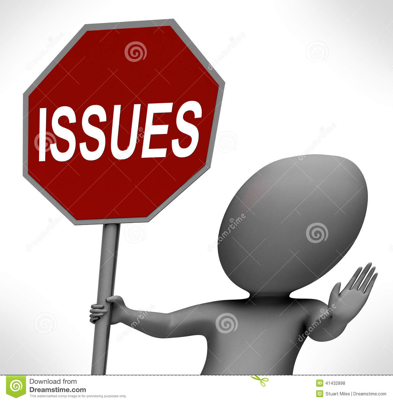 Key issues clipart.