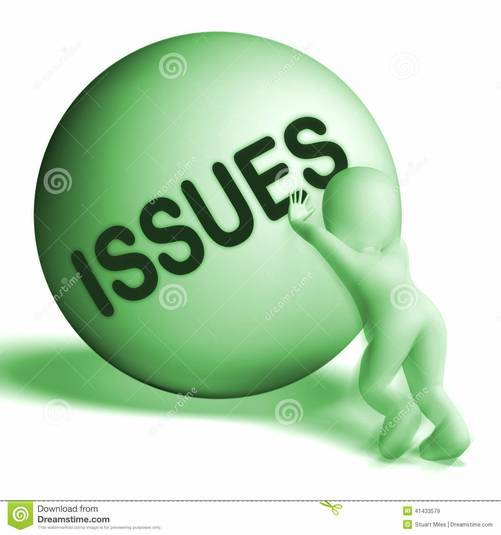 Issues Clipart.