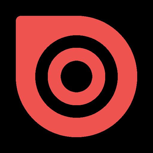 Issuu Logo Icon of Flat style.