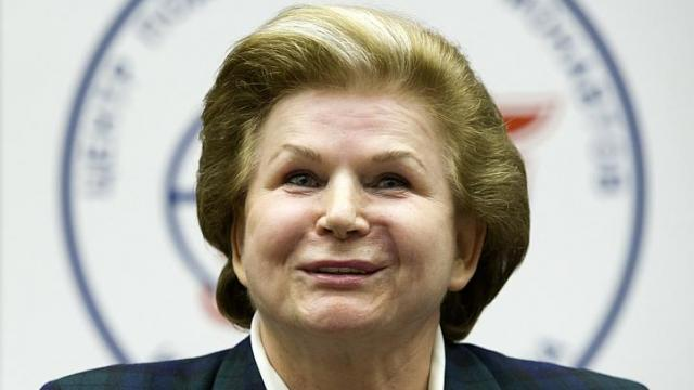 The First Woman in Space: the story of Valentina Tereshkova.