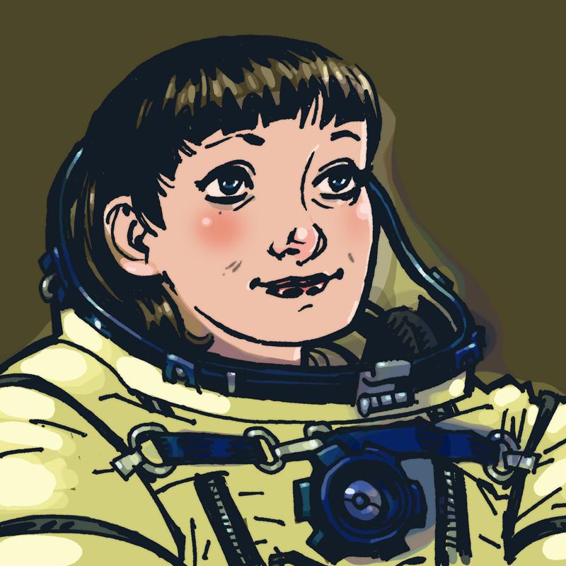 Phillip Bond's Female Astronauts.