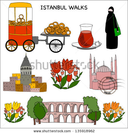 Istanbul Bagel Stock Vectors, Images & Vector Art.