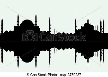 Vectors of istanbul.