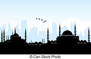 Vector Clip Art of istanbul.