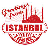 Clipart of Istanbul Silhouette k6538583.