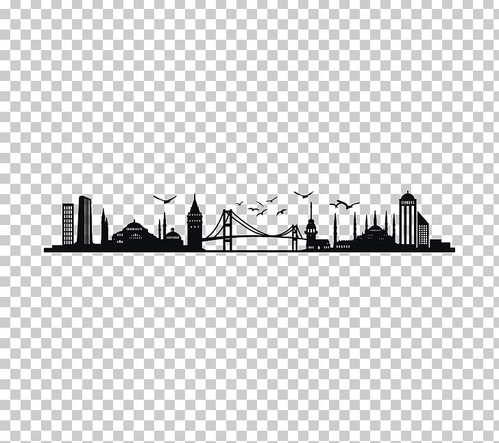 Istanbul Skyline Silhouette PNG, Clipart, Animals, Art, Black And.