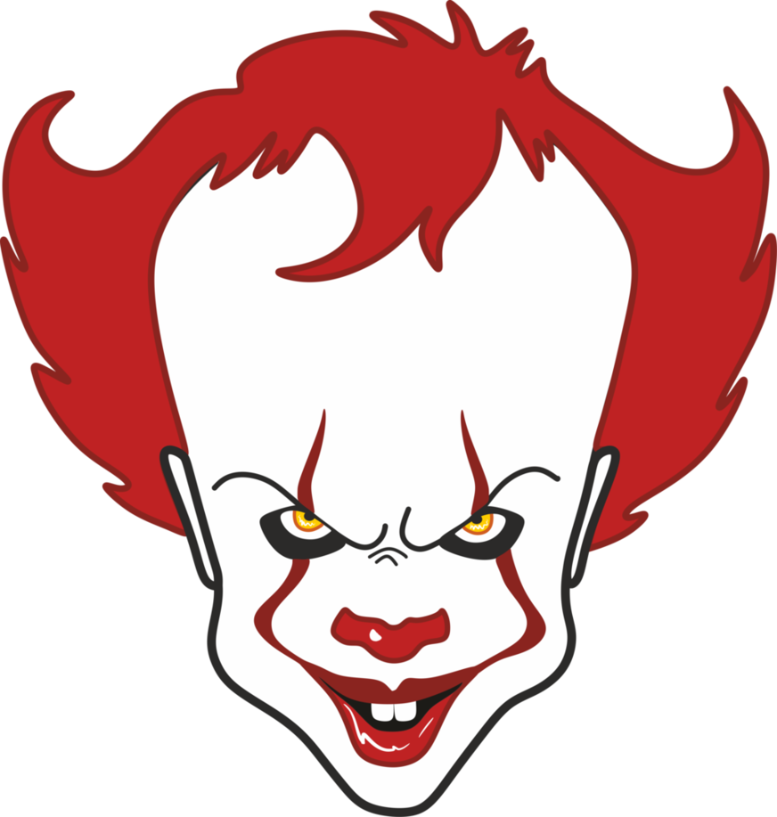 Clown clipart pennywise, Clown pennywise Transparent FREE.