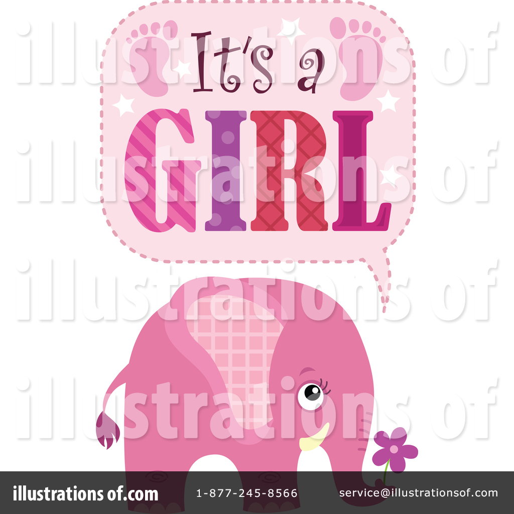 Its A Girl Clipart #1446049.