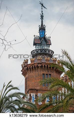 Stock Photograph of Castell dels tres Dragons (zoological museum.