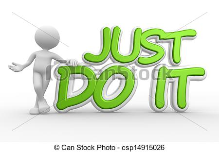 Just Do It Clipart.
