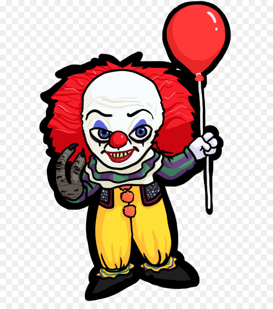 Free Pennywise The Clown Silhouette, Download Free Clip Art.