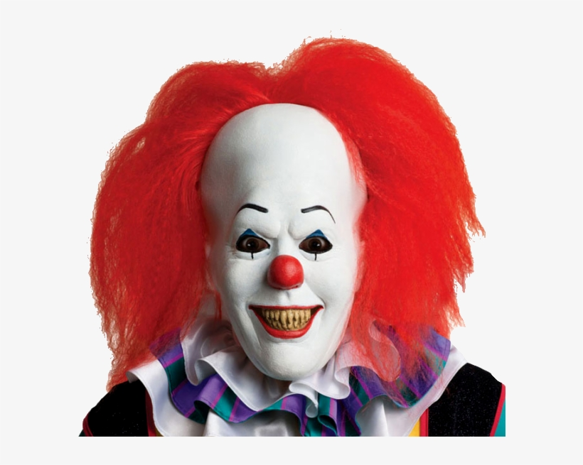 Pennywise The It Clown Horror Mask.
