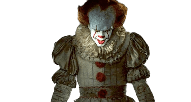 IT Pennywise transparent PNG.