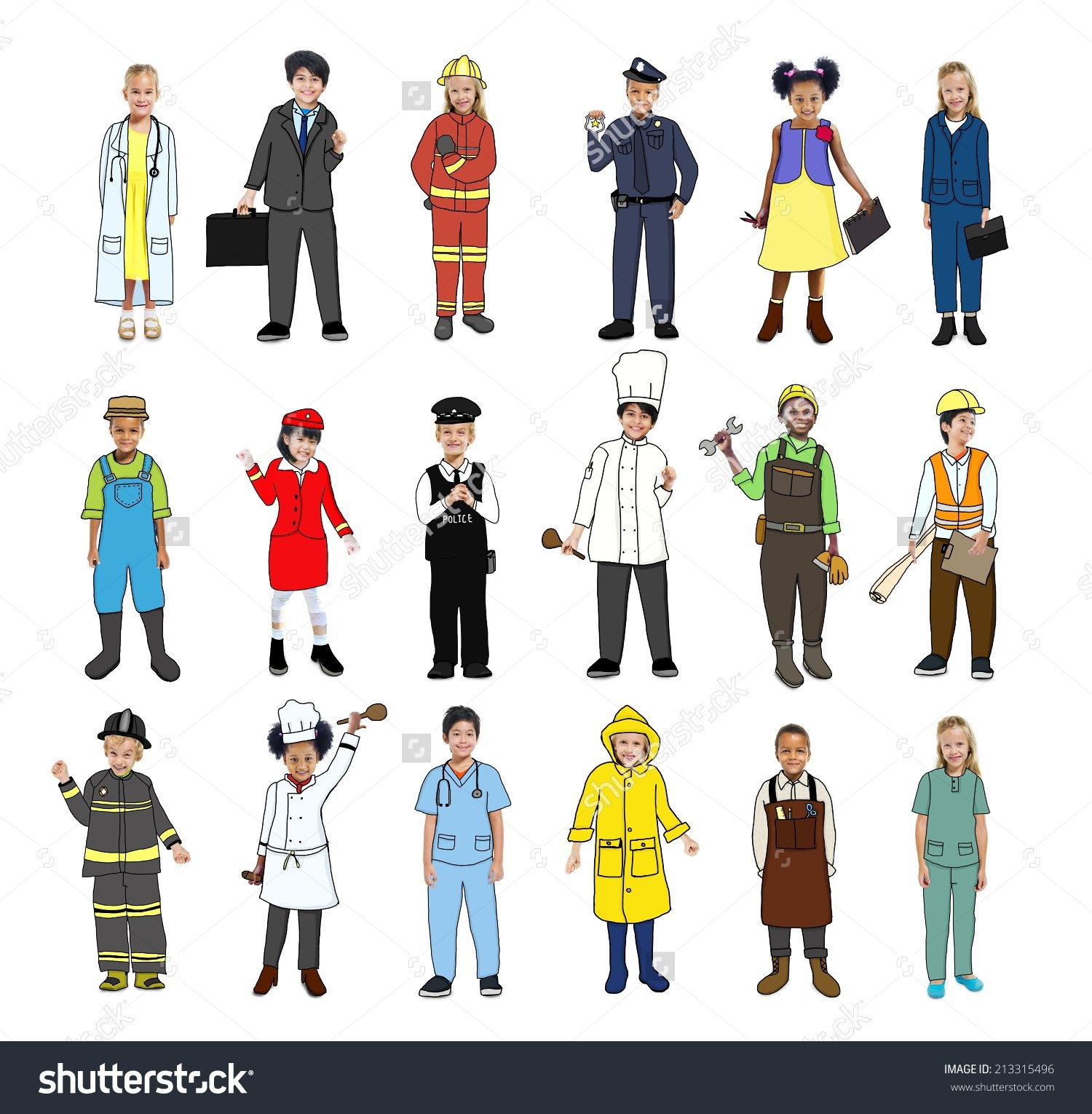 Jobs Clipart with Different Jobs Clipart » Clipart Station.