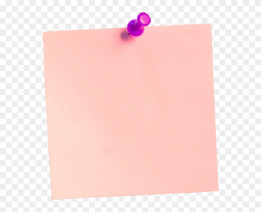 Pink Post It Png Clipart Library Download Transparent Png (#2990707.