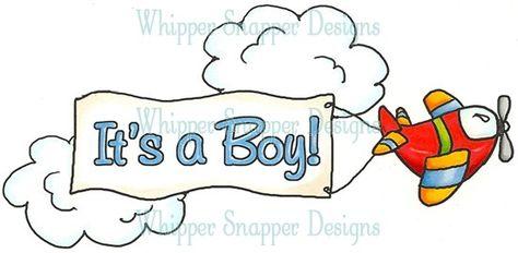 It\'s a Boy Banner.
