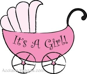 It\'s A Baby Girl Clipart.