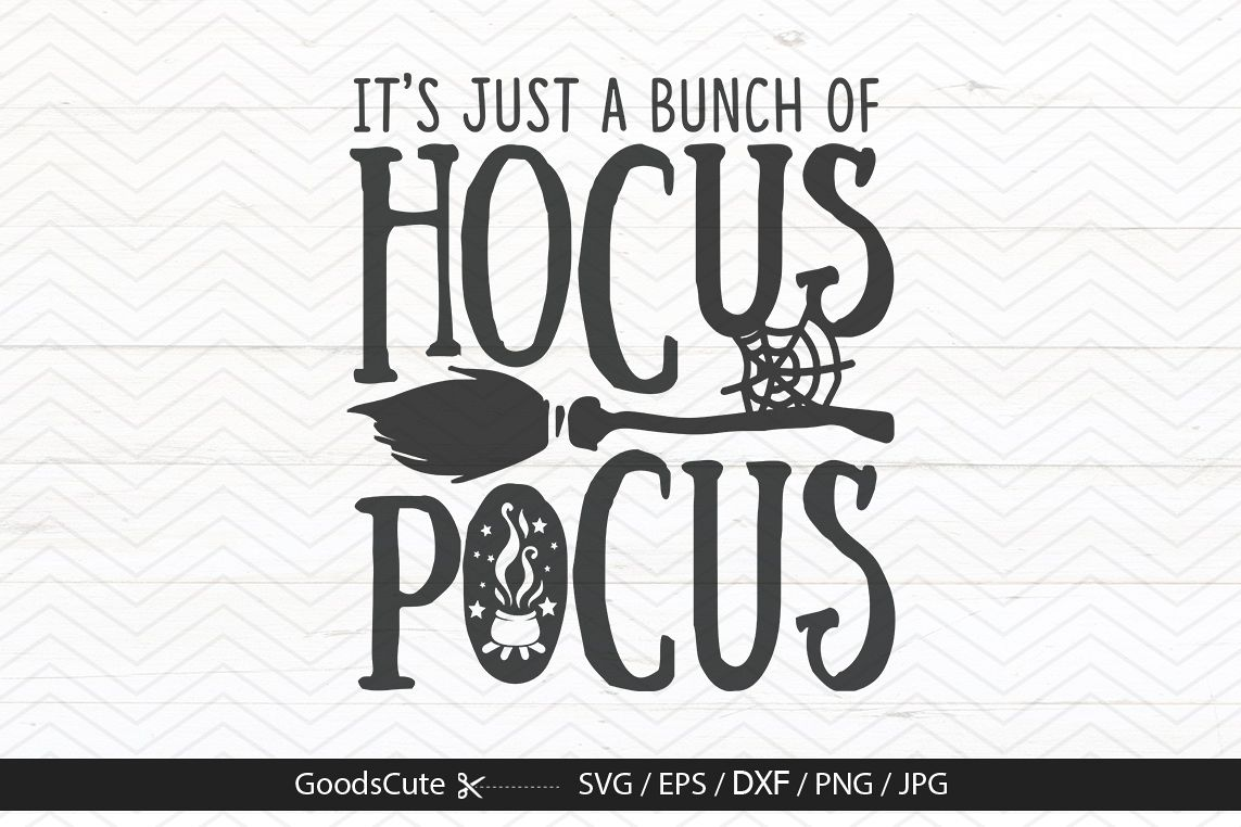 Its Just a Bunch of Hocus Pocus.