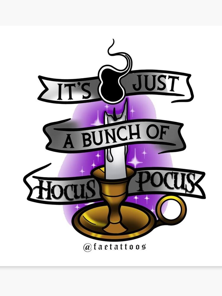 It\'s just a bunch of Hocus Pocus.