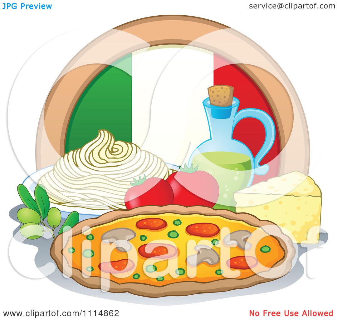 Pix For Italian Restaurant Clip Art, Italian Food Free Clipart.