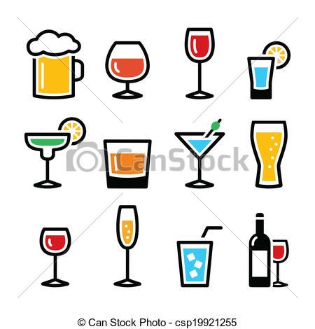 Clipart alkohol.