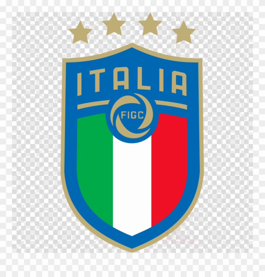 Logo Figc Clipart Italy National Football Team Italian.