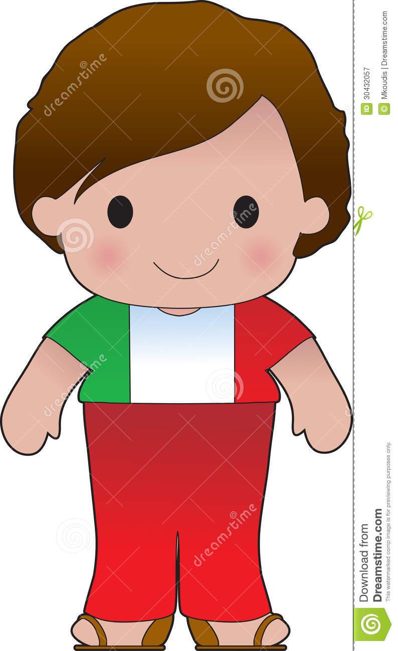 Poppy Italian Boy stock illustration. Illustration of young.