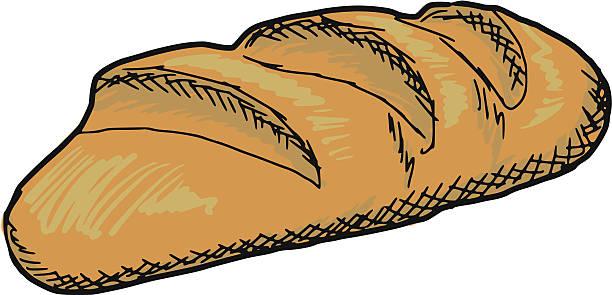 Sourdough Bread Illustrations, Royalty.