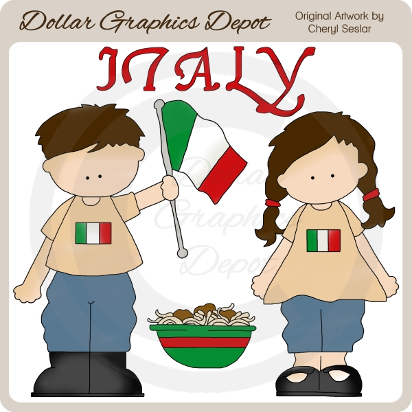 Clipart italian.