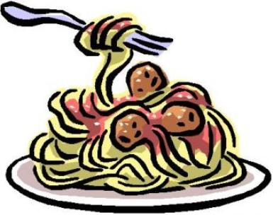 Cook italian food clipart.