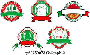 Italian Food Clip Art.