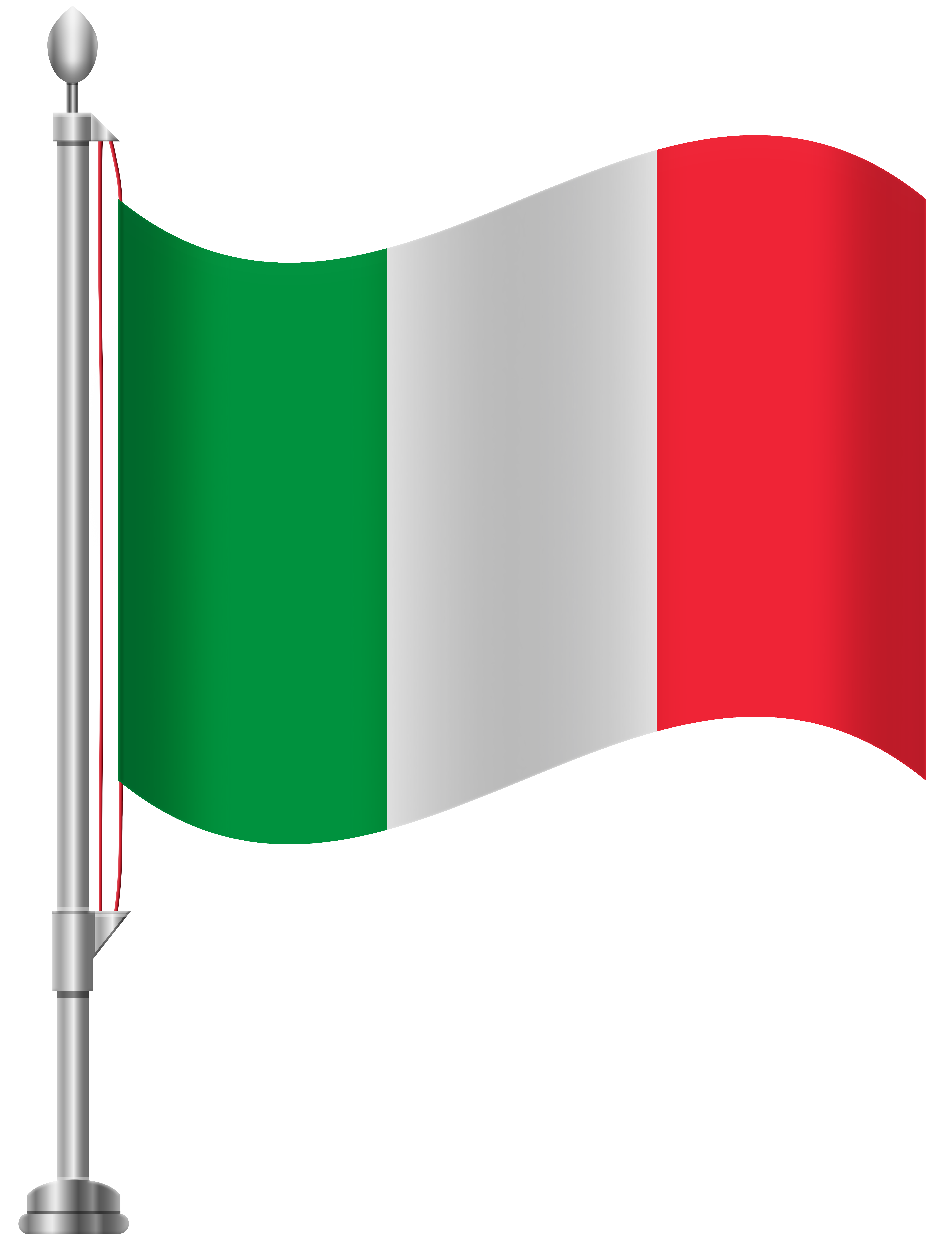 Italy Flag PNG Clip Art.