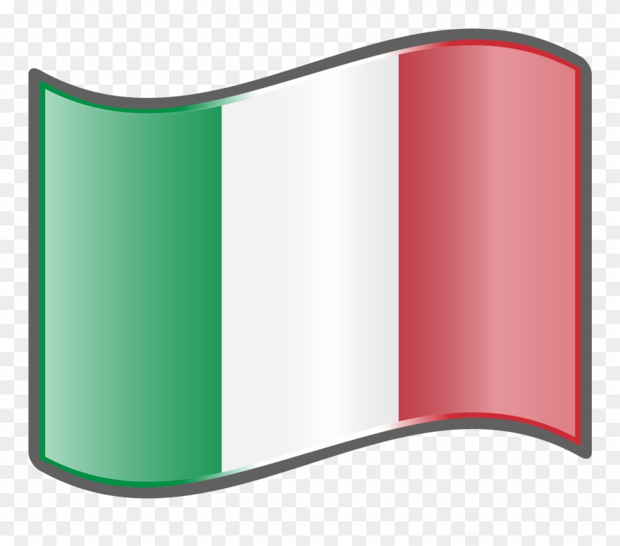 Italian Flag Wave.