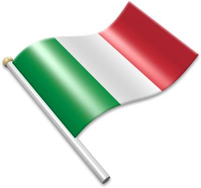 Italian Flag Clipart.