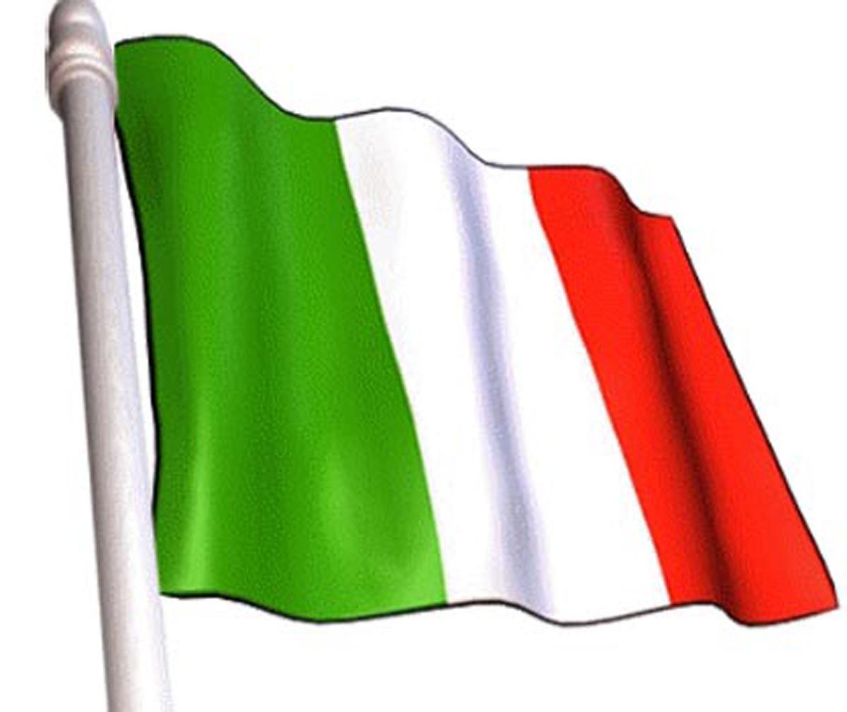 Italian Flag Image.
