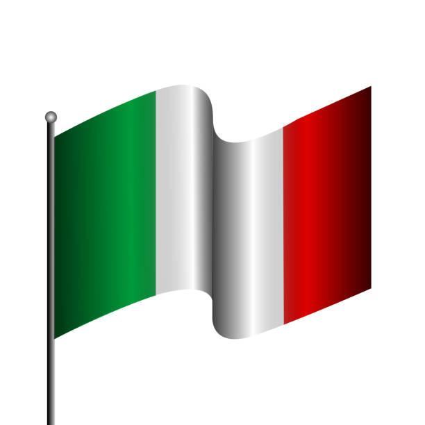 Best An Italian Flag Clip Art Illustrations, Royalty.