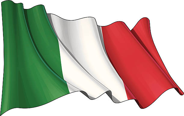 Best Italian Flag Illustrations, Royalty.